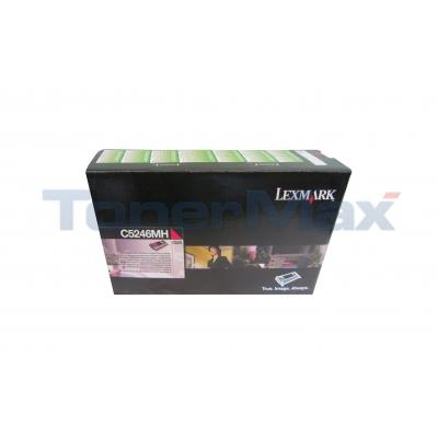 LEXMARK C524 RP TONER CART MAGENTA HY TAA
